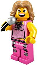 LEGO Minifigure Collection Series 2 LOOSE Mini Figure Pop Starlet