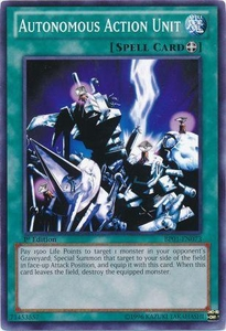 YuGiOh Battle Pack: Epic Dawn Single Card Common BP01-EN073 Autonomous Action Unit