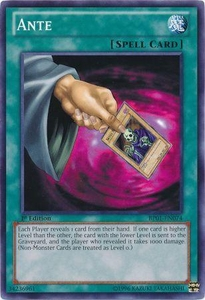 YuGiOh Battle Pack: Epic Dawn Single Card Common BP01-EN074 Ante