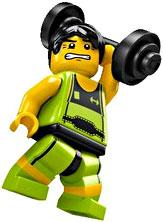 LEGO Minifigure Collection Series 2 LOOSE Mini Figure Weightlifter
