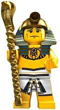 LEGO Minifigure Collection Series 2 LOOSE Mini Figure Egyptian Pharaoh