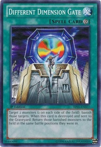 YuGiOh Battle Pack: Epic Dawn Single Card Common BP01-EN077 Different Dimension Gate