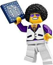 LEGO Minifigure Collection Series 2 LOOSE Mini Figure Disco Dude