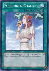 YuGiOh Battle Pack: Epic Dawn Single Card Common BP01-EN082 Forbidden Chalice