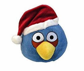 Angry Birds CHRISTMAS 5 Inch Mini Plush Figure Blue Bird