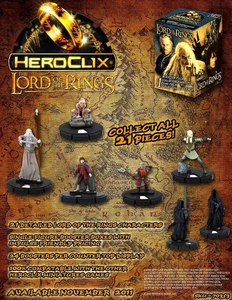 Lord of the Rings Heroclix Booster BOX [24 Figures]