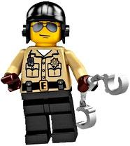 LEGO Minifigure Collection Series 2 LOOSE Mini Figure Traffic Cop