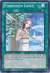YuGiOh Battle Pack: Epic Dawn Single Card Common BP01-EN084 Forbidden Lance