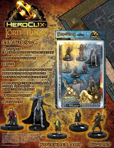 Lord of the Rings HeroClix Starter Set [8 Figures]