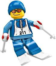 LEGO Minifigure Collection Series 2 LOOSE Mini Figure Skier