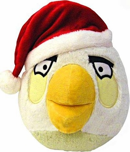 Angry Birds CHRISTMAS 8 Inch DELUXE Plush Figure White Bird