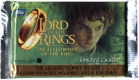 Topps Lord Of The Rings The Fellowship Of The Ring Movie Trading Card Pack [European Edition]