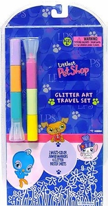 Littlest Pet Shop Activity Set Glitter Art Travel Set