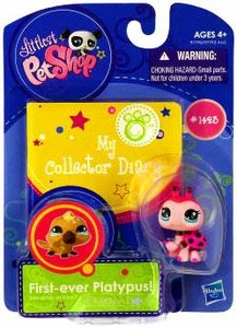 Littlest Pet Shop Activity Set My Collector Diary 2.0 Lady Bug