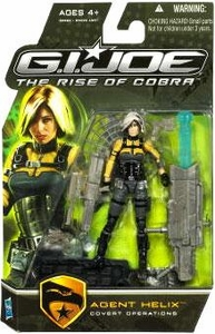 GI Joe Movie The Rise of Cobra 3 3/4 Inch Action Figure Agent Helix [Covert Operations]