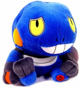 Pokemon Japanese Banpresto Light-Up Plush 5 Inch Figure Croagunk