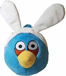 Angry Birds Easter 8 Inch DELUXE Plush Blue Bird
