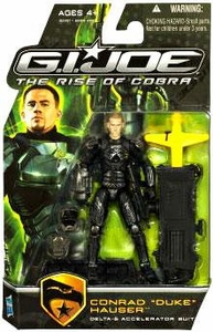 GI Joe Movie The Rise of Cobra 3 3/4 Inch Action Figure Duke [Delta-6 Accelerator Suit]
