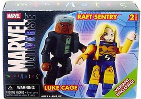 Marvel Minimates Series 12 Mini Figure 2-Pack Luke Cage & Sentry Variant