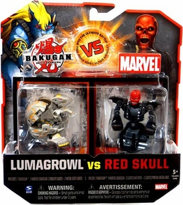 Bakugan vs. Marvel 2-Pack Lumagrowl vs Red Skull