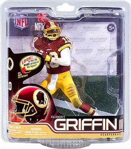 McFarlane Toys NFL Sports Picks Series 31 Action Figure Robert Griffin III (Washington Redskins) Red Jersey & Gold Pants