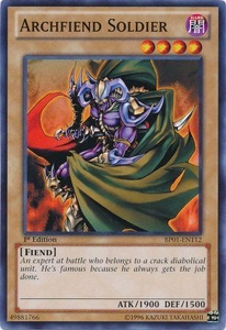 YuGiOh Battle Pack: Epic Dawn Single Card Common BP01-EN112 Archfiend Soldier