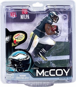McFarlane Toys NFL Sports Picks Series 31 Action Figure LeSean McCoy (Philadelphia Eagles) Green Jersey