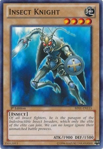 YuGiOh Battle Pack: Epic Dawn Single Card Common BP01-EN115 Insect Knight
