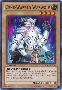 YuGiOh Battle Pack: Epic Dawn Single Card Common BP01-EN116 Gene-Warped Warwolf
