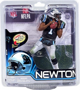 McFarlane Toys NFL Sports Picks Series 31 Action Figure Cam Newton (Carolina Panthers) Black Jersey
