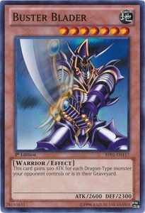 YuGiOh Battle Pack: Epic Dawn Single Card Common BP01-EN117 Buster Blader