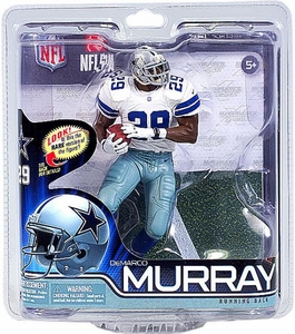 McFarlane Toys NFL Sports Picks Series 31 Action Figure DeMarco Murray (Dallas Cowboys) White Jersey