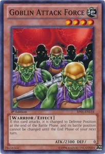 YuGiOh Battle Pack: Epic Dawn Single Card Common BP01-EN118 Goblin Attack Force