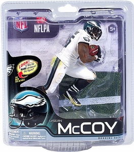 McFarlane Toys NFL Sports Picks Series 31 Action Figure LeSean McCoy (Philadelphia Eagles) White Jersey Collector Level Only 2,000 Made!