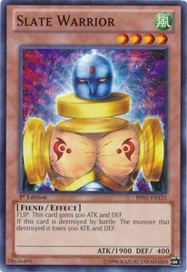 YuGiOh Battle Pack: Epic Dawn Single Card Common BP01-EN121 Slate Warrior