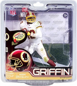 McFarlane Toys NFL Sports Picks Series 31 Action Figure Robert Griffin III (Washington Redskins) White Jersey & White Pants Collector Level Only 1,000 Made!