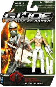 GI Joe Movie The Rise of Cobra 3 3/4 Inch Action Figure Storm Shadow [Arctic Assault]
