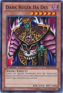 YuGiOh Battle Pack: Epic Dawn Single Card Common BP01-EN122 Dark Ruler Ha Des
