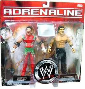 WWE Jakks Pacific Wrestling Adrenaline Series 22 Action Figure 2-Pack Psicosis Vs. Super Crazy