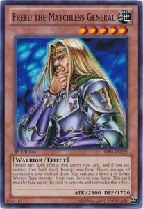 YuGiOh Battle Pack: Epic Dawn Single Card Common BP01-EN123 Freed the Matchless General