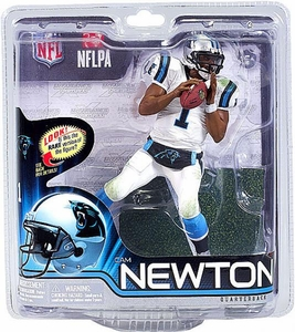 McFarlane Toys NFL Sports Picks Series 31 Action Figure Cam Newton (Carolina Panthers) White Jersey Collector Level Only 1,000 Made!