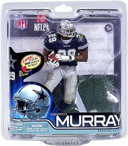 McFarlane Toys NFL Sports Picks Series 31 Action Figure DeMarco Murray (Dallas Cowboys)Blue Jersey Collector Level Only 2,000 Made!