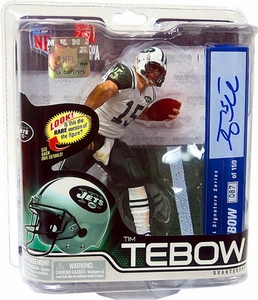 McFarlane Toys NFL Sports Picks Series 31 Action Figure Tim Tebow (New York Jets) Signature Series Premier Collector Level Only 150 Made!