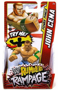 WWE Wrestling Rumblers Rampage Mini Figure John Cena [Power Punch]
