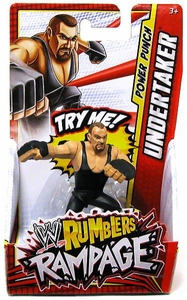 WWE Wrestling Rumblers Rampage Mini Figure Undertaker [Power Punch]