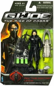 GI Joe Movie The Rise of Cobra 3 3/4 Inch Action Figure Rex