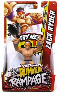WWE Wrestling Rumblers Rampage Mini Figure Zach Ryder [Super Jump]