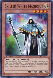 YuGiOh Battle Pack: Epic Dawn Single Card Common BP01-EN131 Skilled White Magician