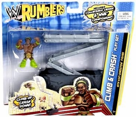 WWE Wrestling Rumblers Playset Climb & Crash [Kofi Kingston]