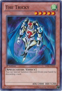 YuGiOh Battle Pack: Epic Dawn Single Card Common BP01-EN135 The Tricky